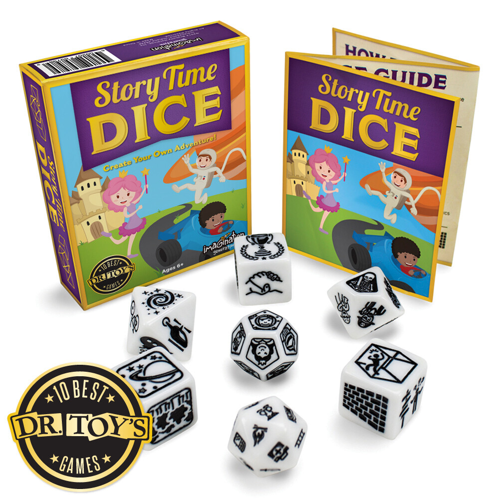 Story Time Dice, Create Your Own Adventure Storytelling Game