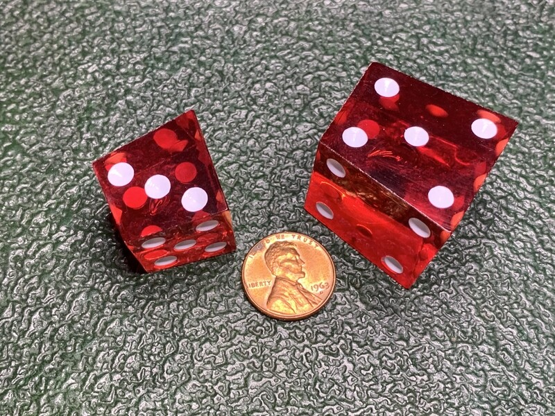 Crooked Dice 2d6 Gag Novelty RPG Gaming Tabletop Games Roleplay Board Card