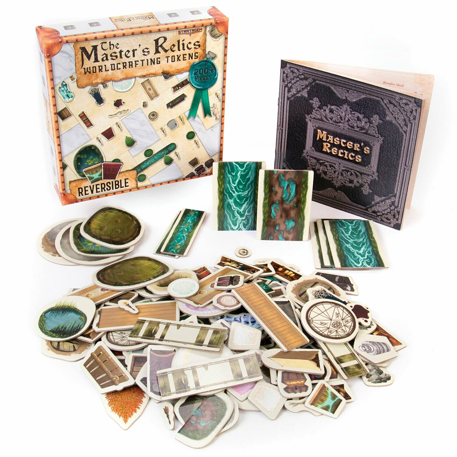 The Master's Relics Worldcrafting Tokens RPG Tabletop Gaming Roleplay Games