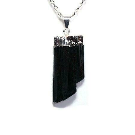 Black Tourmaline Pendant. Sold by the EACH