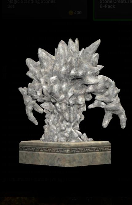 Earth Elemental Statue  - Shroud of the Avatar