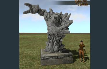 Golem Statue  - Shroud of the Avatar