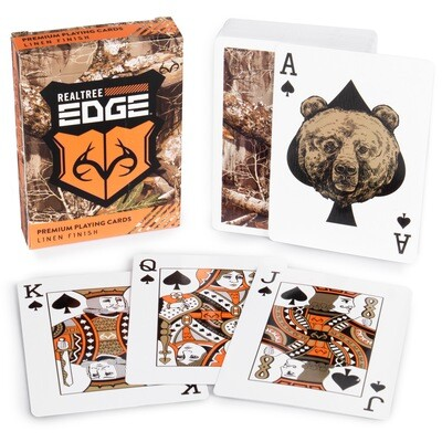 Realtree Edge Camouflage Playing Cards Gaming Tabletop