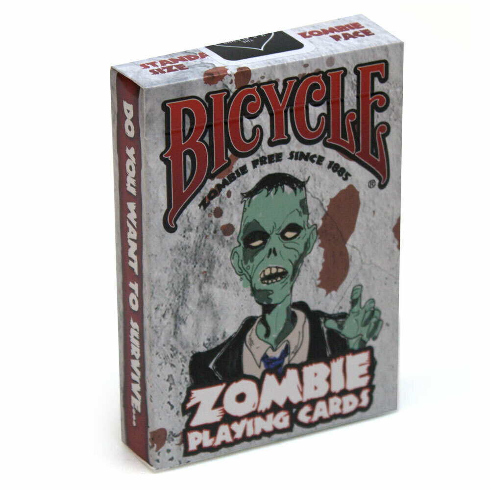 Bicycle Zombie Playing Cards Monster Undead Tabletop Games Gaming Poker Sized