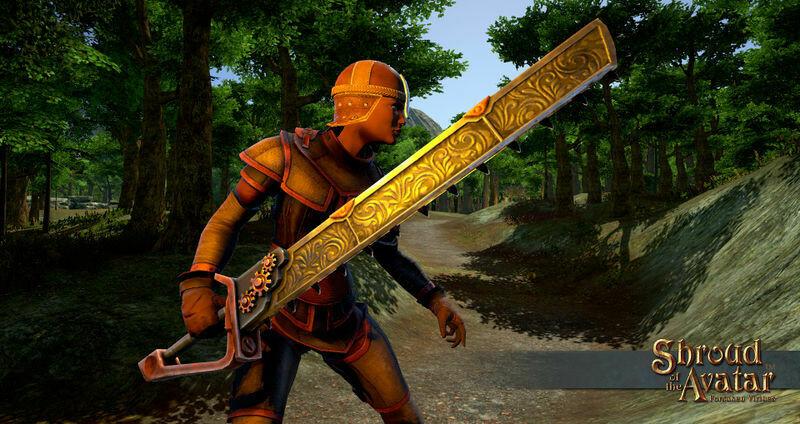Ornate Chain Sword - Shroud of the Avatar