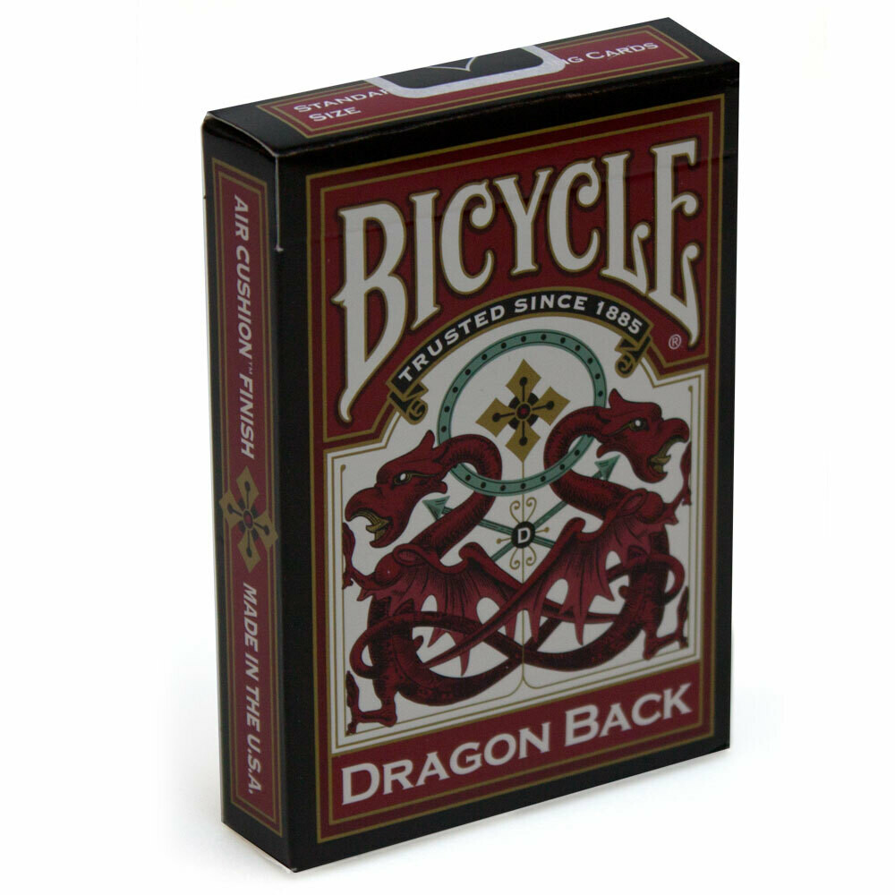 Dragon Back - Bicycle Playing Cards
