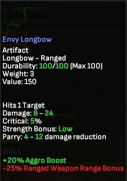 Envy Longbow - Shroud of the Avatar