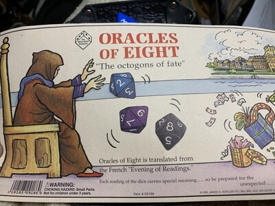 Oracles of Eight 3D8 Jumbo Evenings of Reading Octogons of Fate Daily Readings