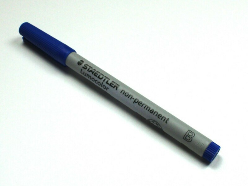 Medium-Tip Single Wet Erase Water Soluble Marker Lumocolor Tabletop RPG Gaming - Choose Color!