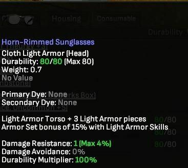 Horn-Rimmed Sunglasses - Shroud of the Avatar