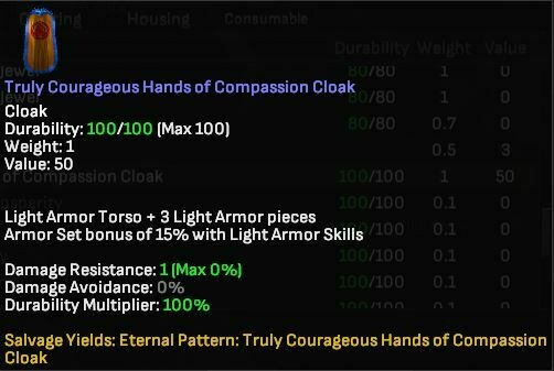 Truly Courageous Hands of Compassion Cloak - Shroud of the Avatar