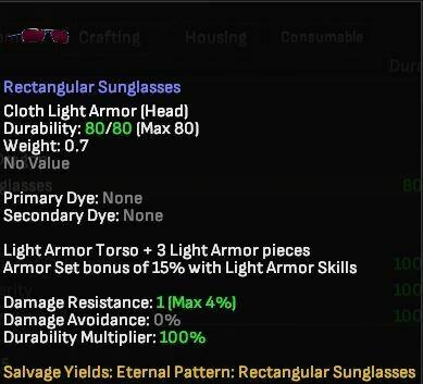 Rectangular Sunglasses - Shroud of the Avatar