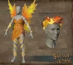 Autumn Fairy Wings - Shroud of the Avatar