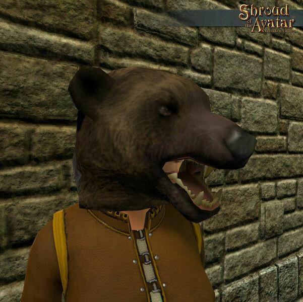 Bear Mask - Shroud of the Avatar