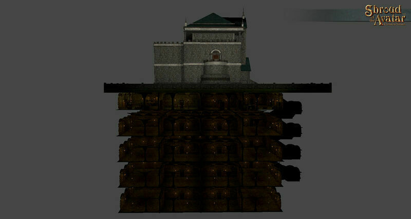 City Stone 5-Story Basement - Shroud of the Avatar