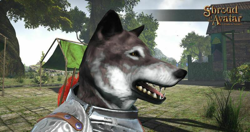 Wolf Mask - Shroud of the Avatar
