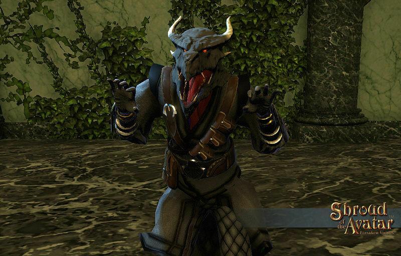 Wyvern Mask - Shroud of the Avatar