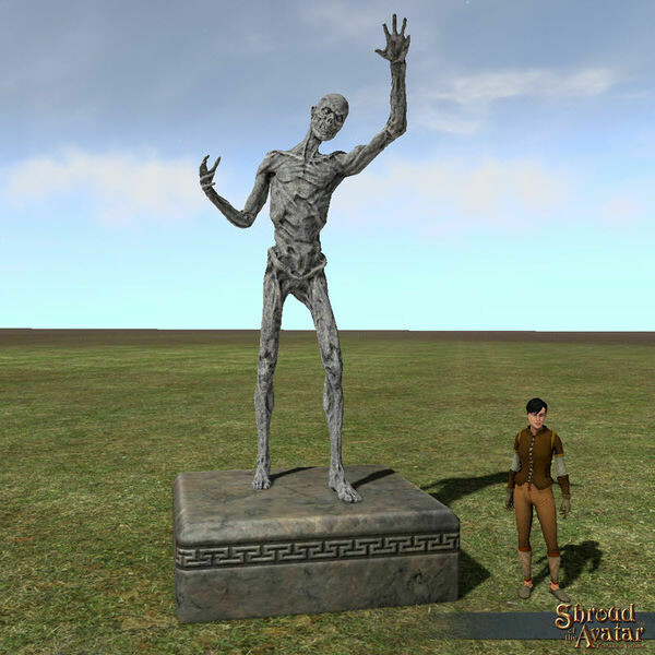 Zombie Statue - Shroud of the Avatar