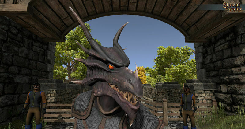 Dragon Mask - Shroud of the Avatar