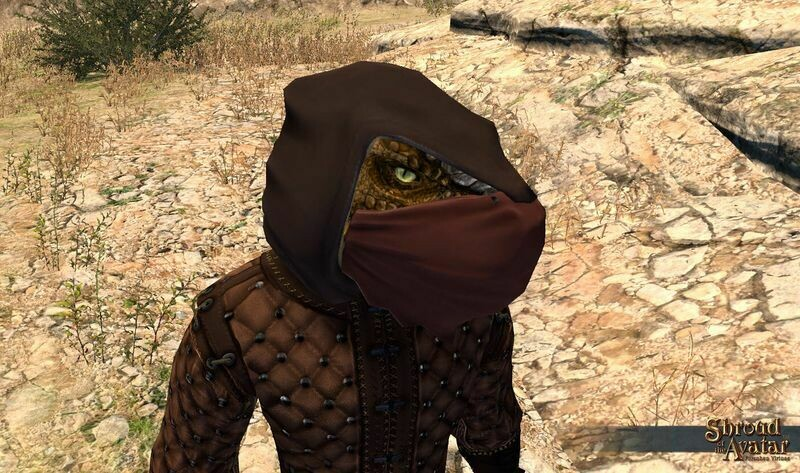 Kobold Archer Mask - Shroud of the Avatar
