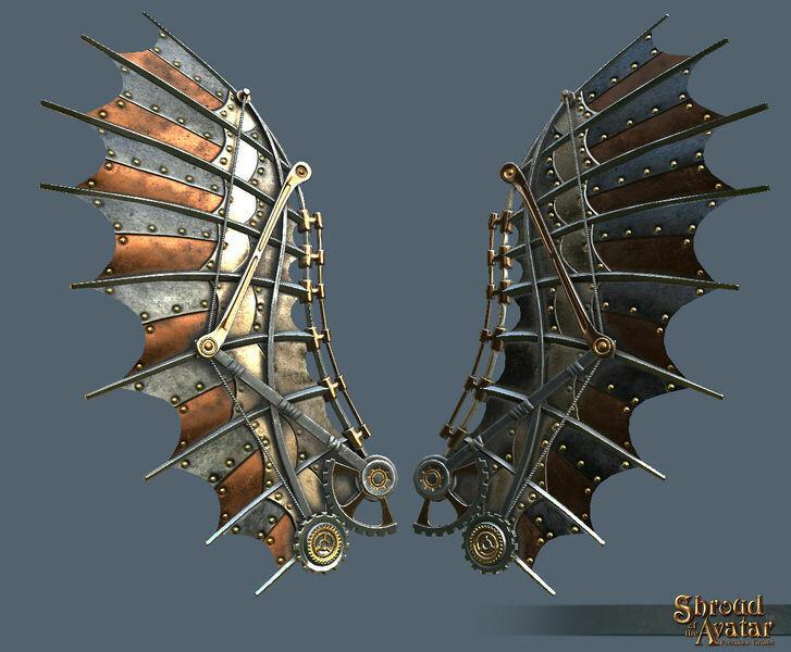 Kobold Clockwork Wings - Shroud of the Avatar