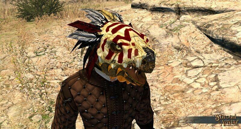 Kobold Mage Mask - Shroud of the Avatar