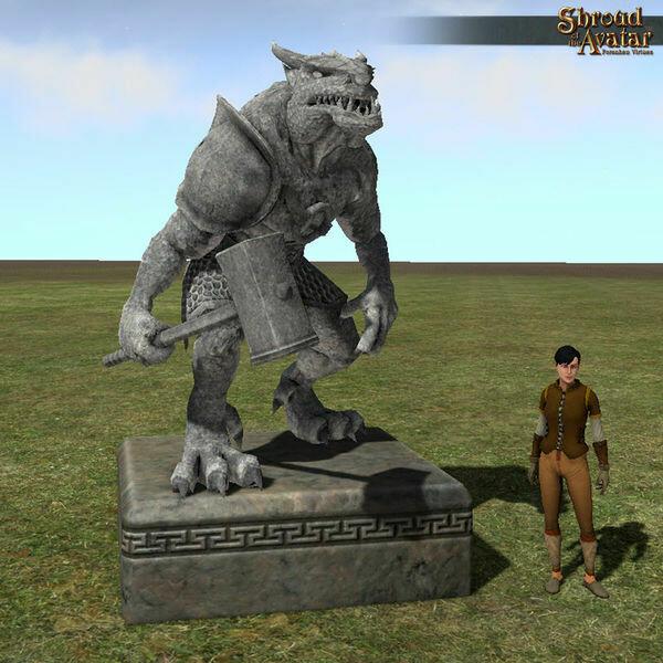 Zombie Statue - Shroud of the Avatar