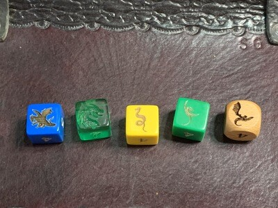 16mm Custom D6 Dragon Dice RPG Tabletop Roleplay Gaming Card Board Games Tokens Counter Marker Six Sided Random Roll