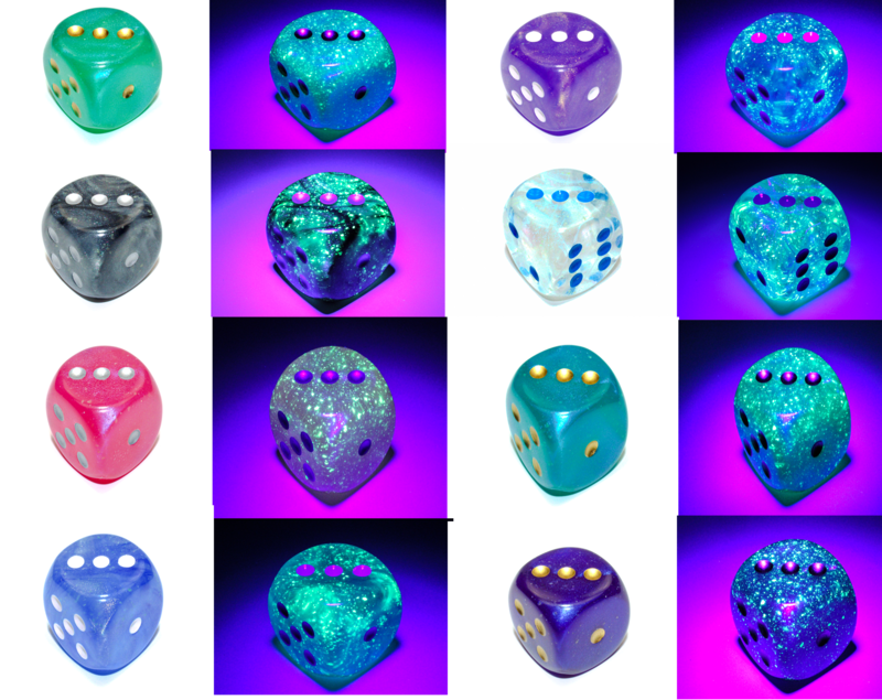 Jumbo 30mm D6 Borealis Luminary Dice Extra Large Counter RPG Tabletop Board Games CCG Roleplay Card Random Decision Makers Big Huge Die