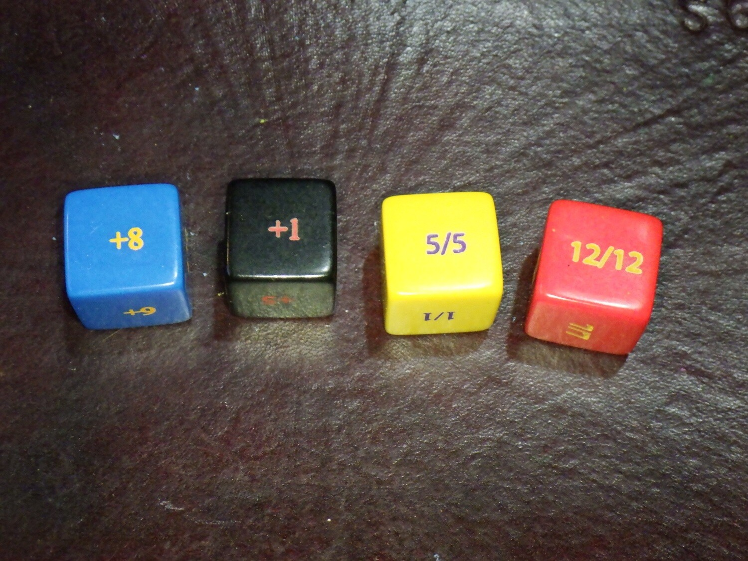 Counter Summoned Creatures +1-+12 and 1/1-12/12 Dice D6 Die Custom 16mm Gaming Tabletop RPG CCG Card Games Collectable Trading Board