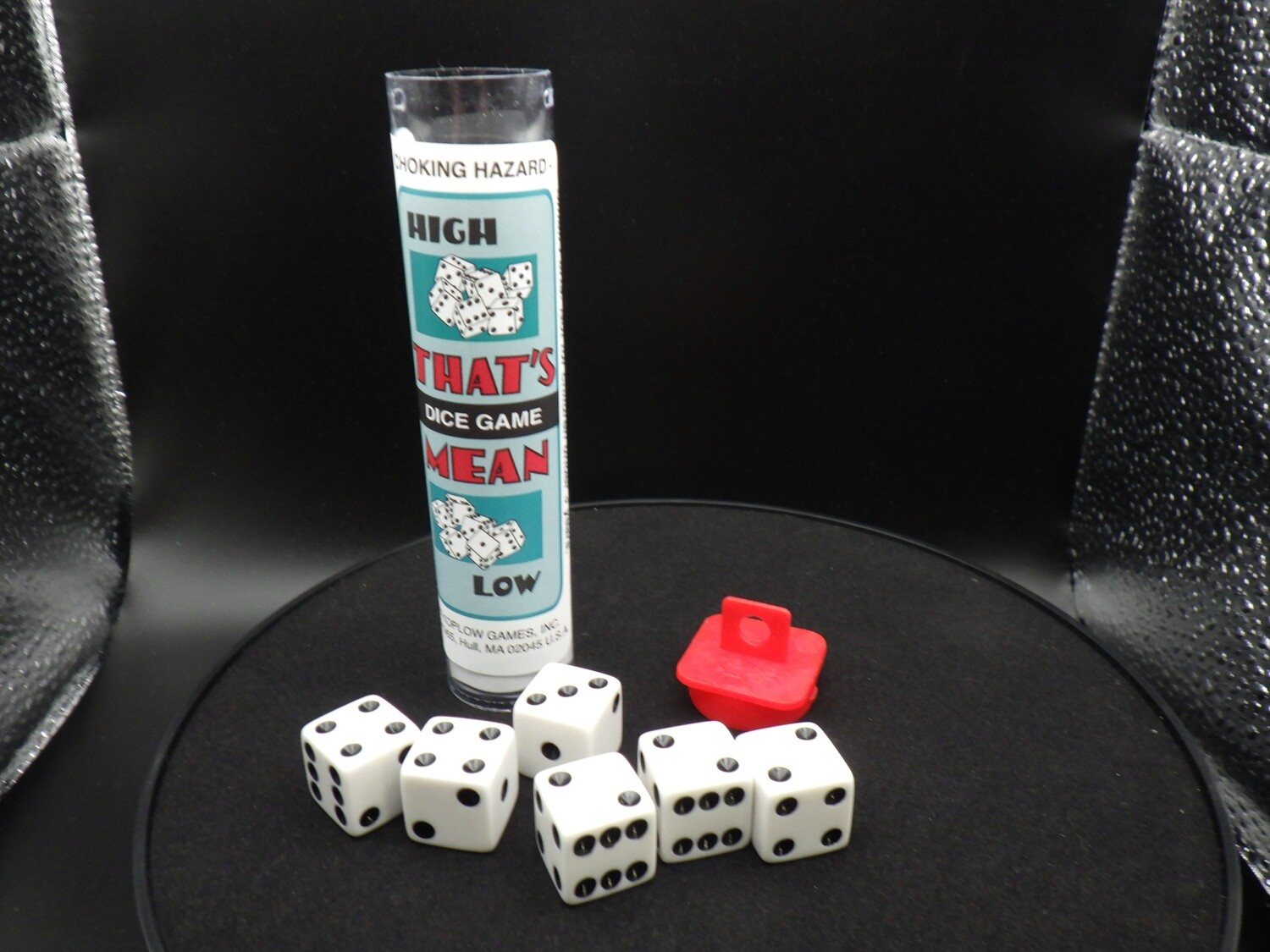 That's Mean High Low Dice Game - Instructions with 6 Dice - 6D6 - Tabletop Gaming