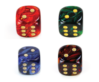 Large 20mm D6 Scarab Style Die RPG Tabletop Dice Roleplay Game CCG Board Counter Marker Token Card Roleplay