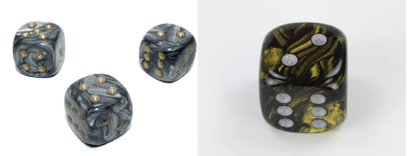 Large 20mm D6 Leaf Die RPG Tabletop Dice Roleplay Game CCG Board Counter Marker Token Card Roleplay