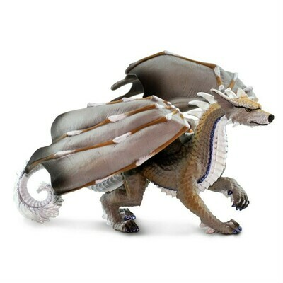 Wolf Dragon Size In : 8.27 L x 7.68 W x 5.12 H Tabletop Gaming RPG Miniature Fantasy Figure Miniature Figurine Toy Creature Monster Mini