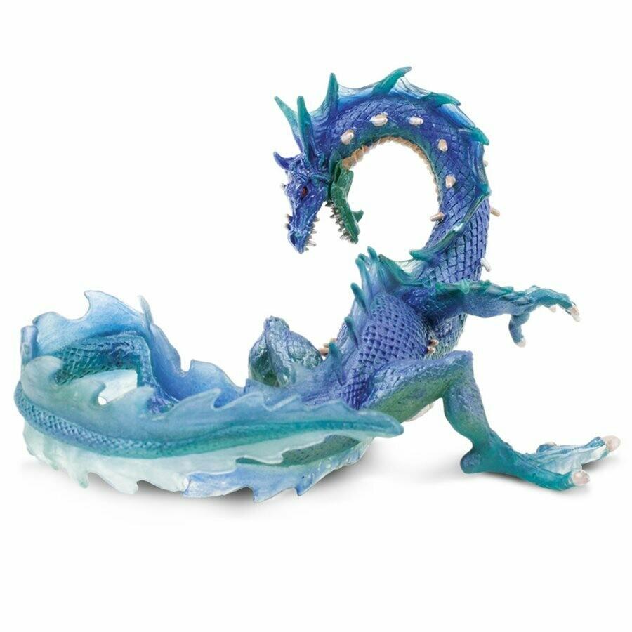 Sea Dragon 7 L x 4.55 W x 4 H Inches - Tabletop Gaming RPG Miniature Fantasy Figure Miniature Figurine Toy Creature Monster Mini