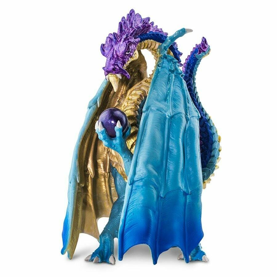 Wizard Dragon 5 L x 1.28 W x 2.31 H Inches - Tabletop Gaming RPG Miniature Fantasy Figure Miniature Figurine Toy Creature Monster Mini