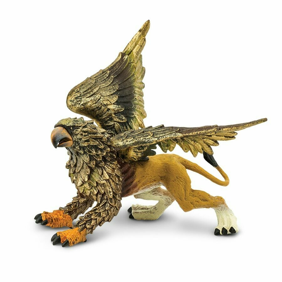 Griffin 4.5 L x 4.1 W x 4.05 H Inches - Tabletop Gaming RPG Miniature Fantasy Figure Miniature Figurine Toy Creature Monster Mini