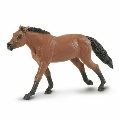 Thoroughbred Stallion 6.6 L x 1.25 W x 3.25 H Inches - Tabletop Gaming Horse Toy Miniature Fantasy Figure Miniature Figurine Toy Creature Monster Mini