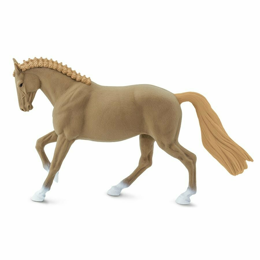 Hanoverian Mare 6.4 L x 1.4 W x 3.85 H Inches - Tabletop Gaming RPG Horse Toy Miniature Fantasy Figure Miniature Figurine Toy Creature Monster Mini