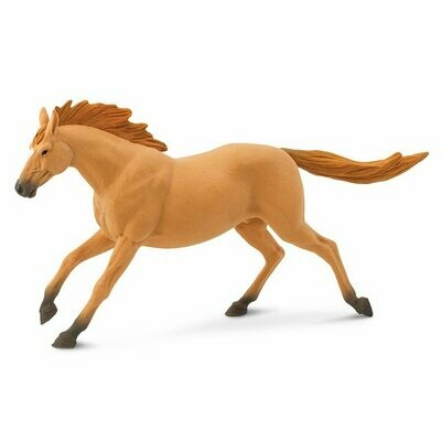 Trakehner Stallion 7.15 L x 1.5 W x 3.95 H Inches - Tabletop Gaming Horse Toy Miniature Fantasy Figure Miniature Figurine Toy Creature Monster Mini