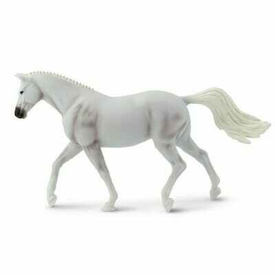 Trakehner Mare 6.7 L x 1.6 W x 3.8 H Inches - Figurine Animal Nature Toy Mini Horse
