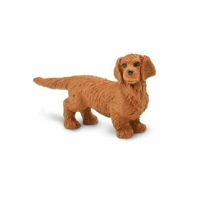 Dachshunds 1x.5 inch Weiner Mini lot of x4 - Figurine Animal Nature Toy Dog
