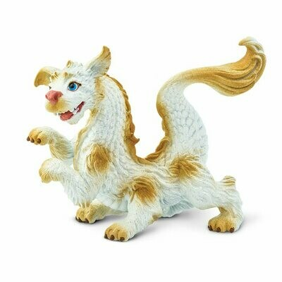 Baby Luck Dragon 3.4 L x 1.7 W x 2.85 H Inches Miniature Figure Toy Figurine