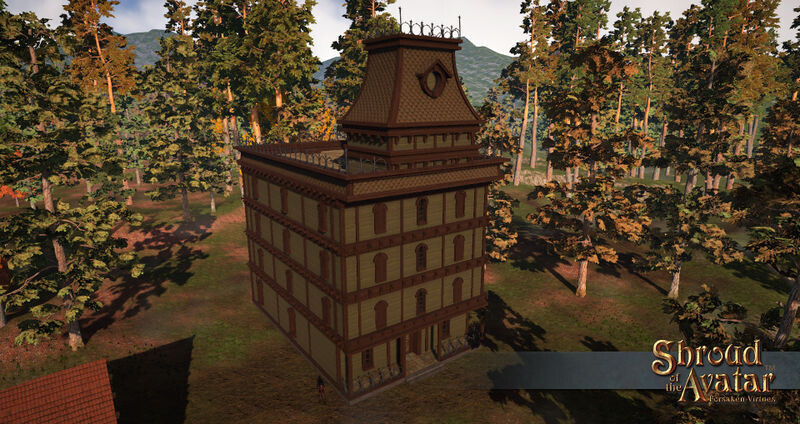 Gothic Inn (Village Home) - Shroud of the Avatar