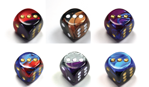 Gemini Dice Jumbo 30mm D6 Extra Large RPG Tabletop Roleplay CCG Board Counter Marker Token Card Roleplay Games Gaming Random Roll Decision