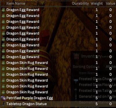 Dragon Lot (17 Items) - Shroud of the Avatar