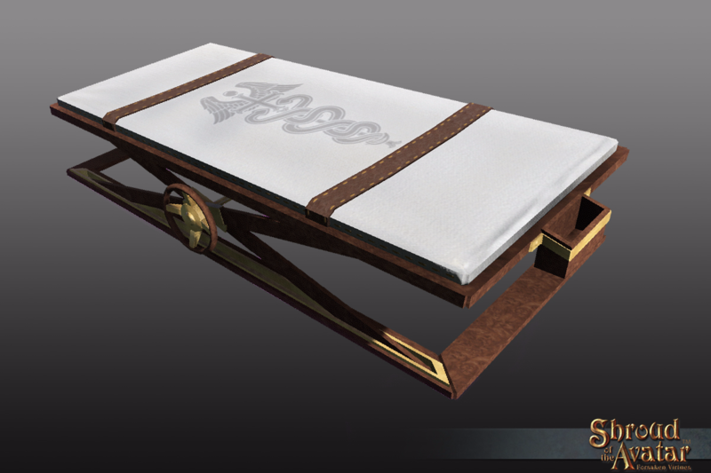 Ornate Hospital Bed - Shroud of the Avatar
