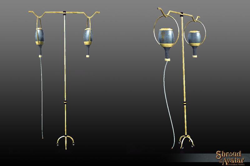 Ornate IV Stand - Shroud of the Avatar
