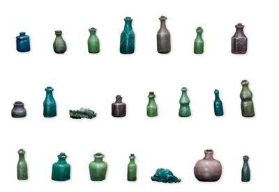 Bottles And Small Bottles - Set 1 (22) Models Miniatures Figures RPG Tabletop Roleplay Games