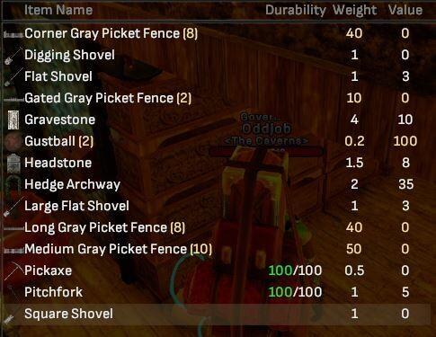 Gray Picket Fence Bulk Lot - Shroud of the Avatar